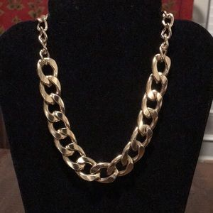 VGUC~ Goldtone Chunky Chain Necklace